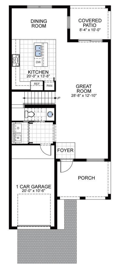 Model B1: Floor 1