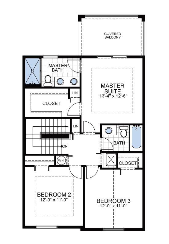 Model B1: Floor 2