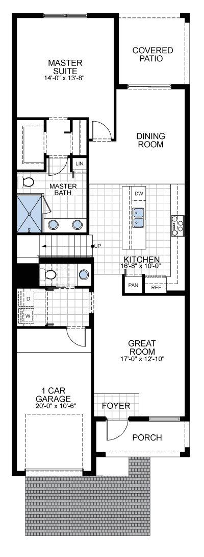 Model D: Floor 1