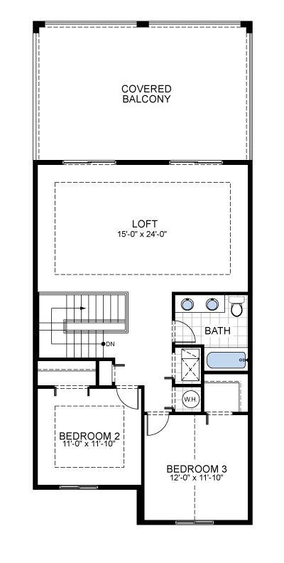 Model D: Floor 2
