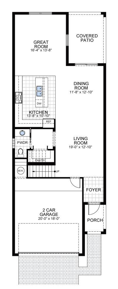 Model E: Floor 1