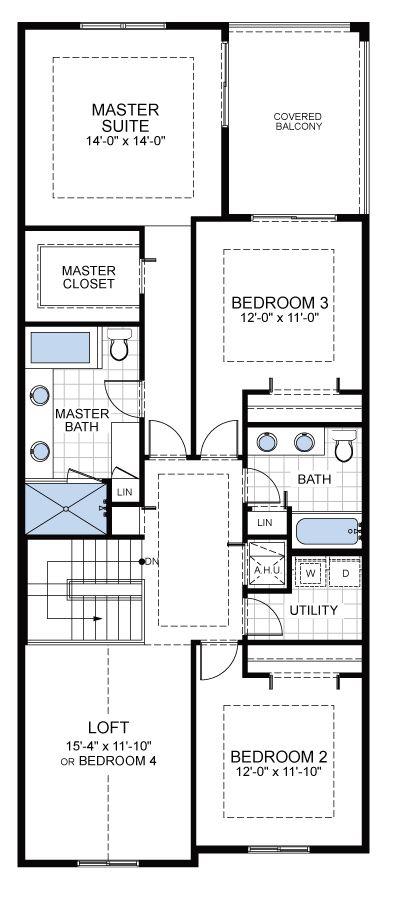 Model E: Floor 2