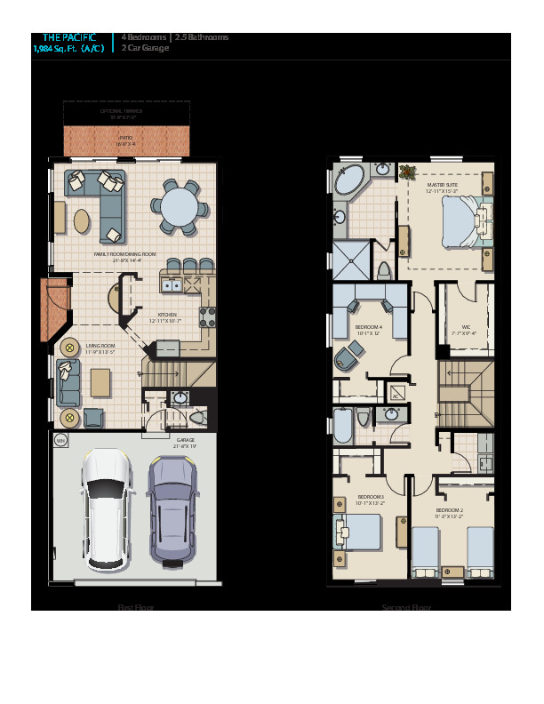 Pacific: Floor Plan