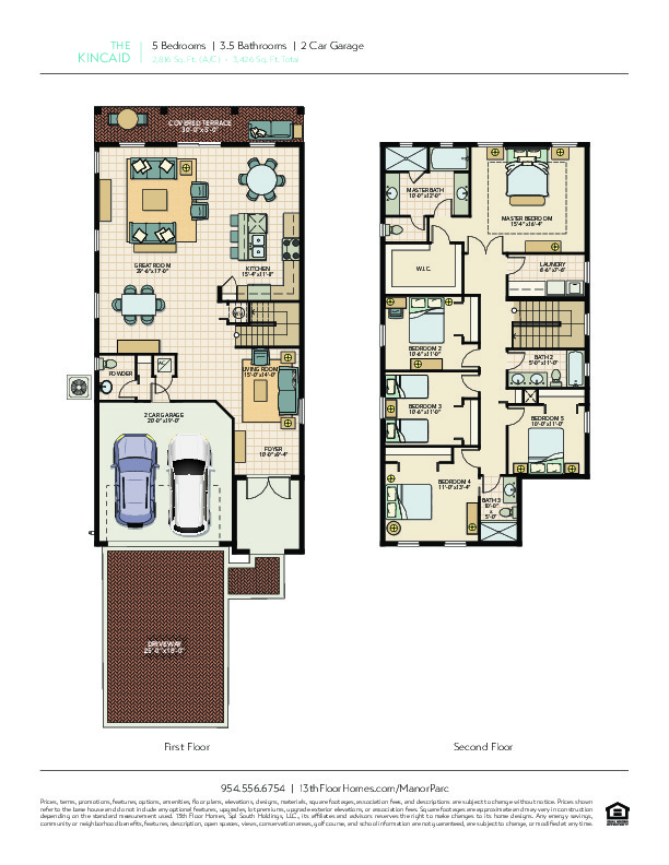 The Kincaid Floorplan
