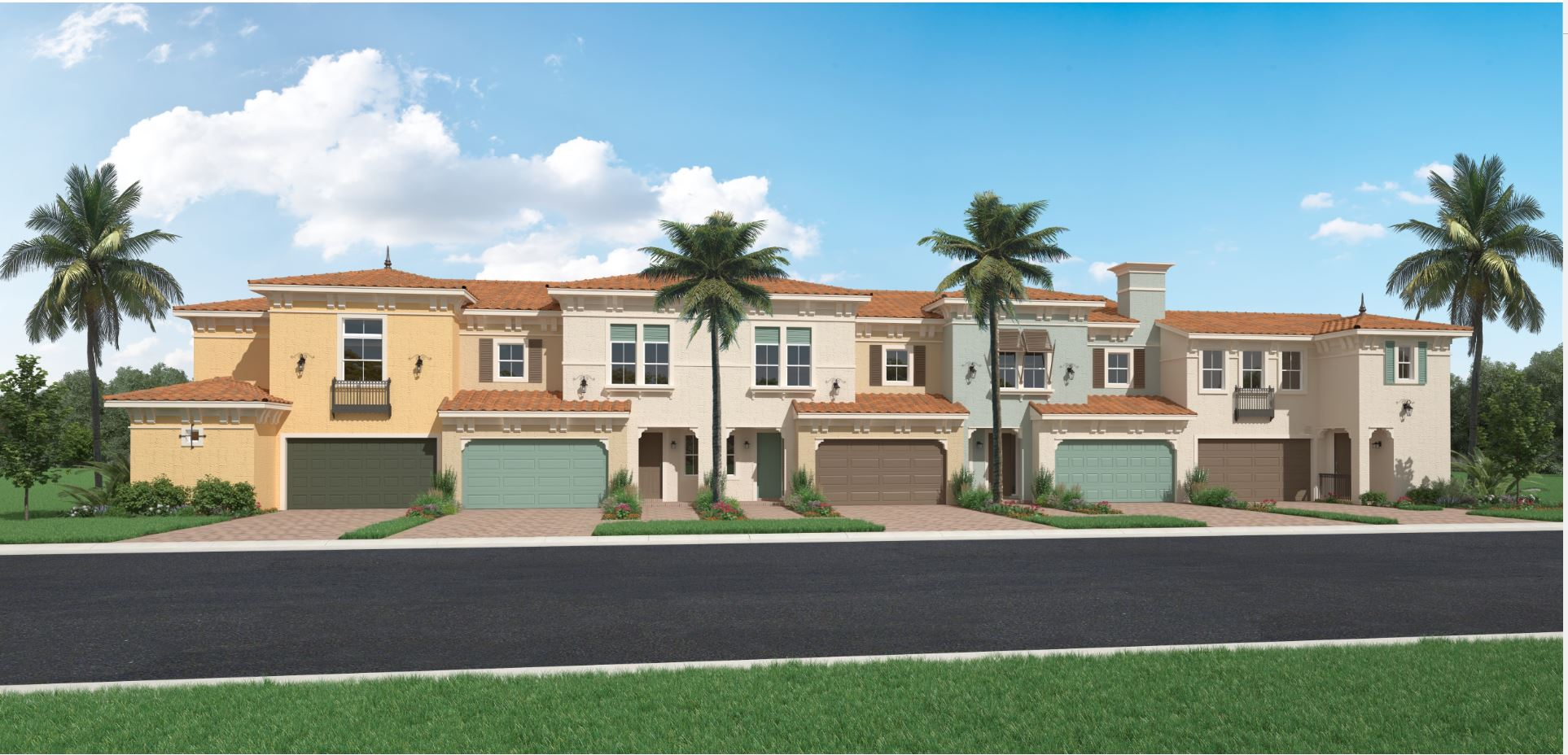 Mediterranean Elevation: Terrace Home Collection