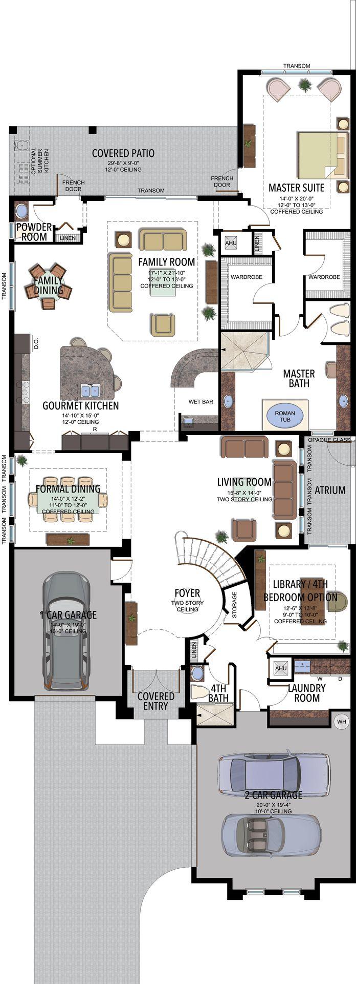Vizcaya Contemporary Plan