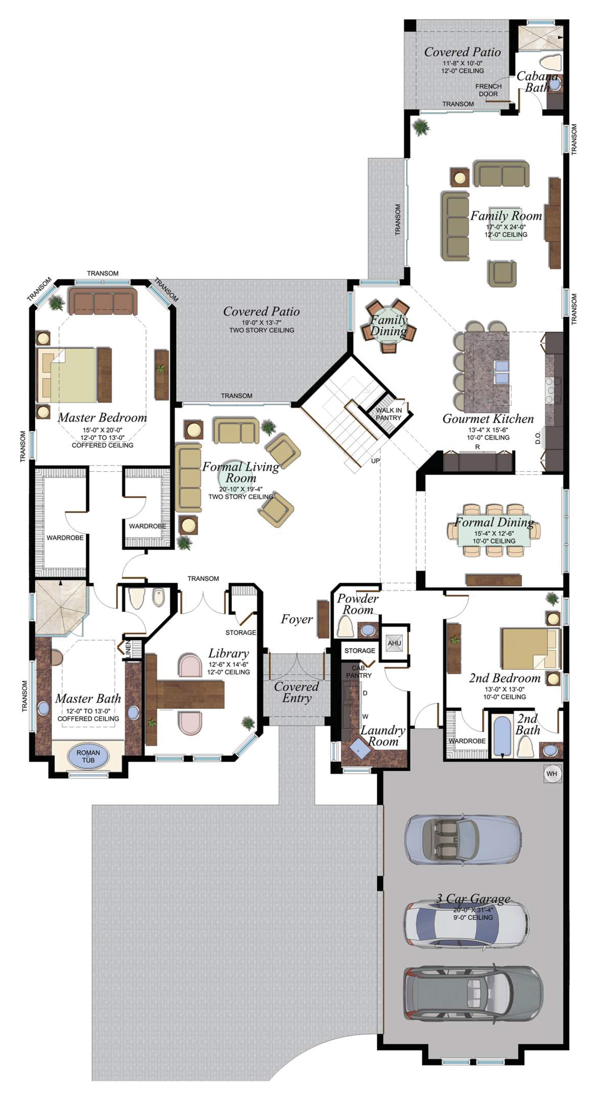 BB Colonnade Grande 756 F1 Floorplan