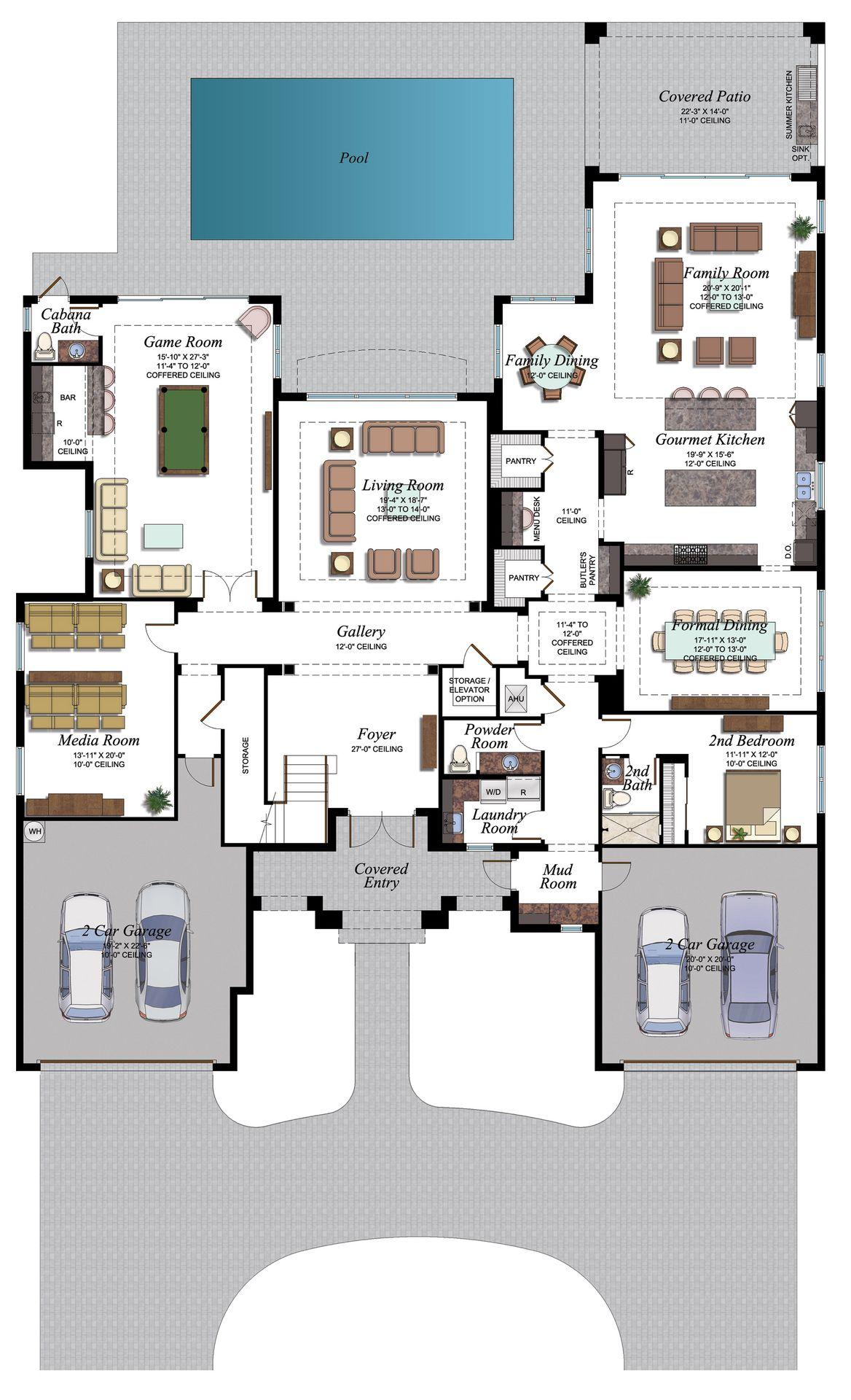 BB Palazzo 904 F1 Floorplan