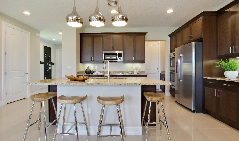 Impressive gourmet kitchen