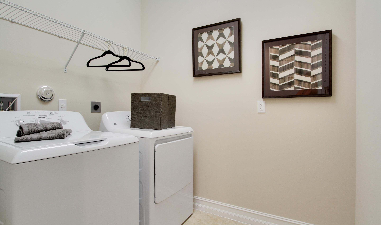 Convenient 2nd floor laundry room
