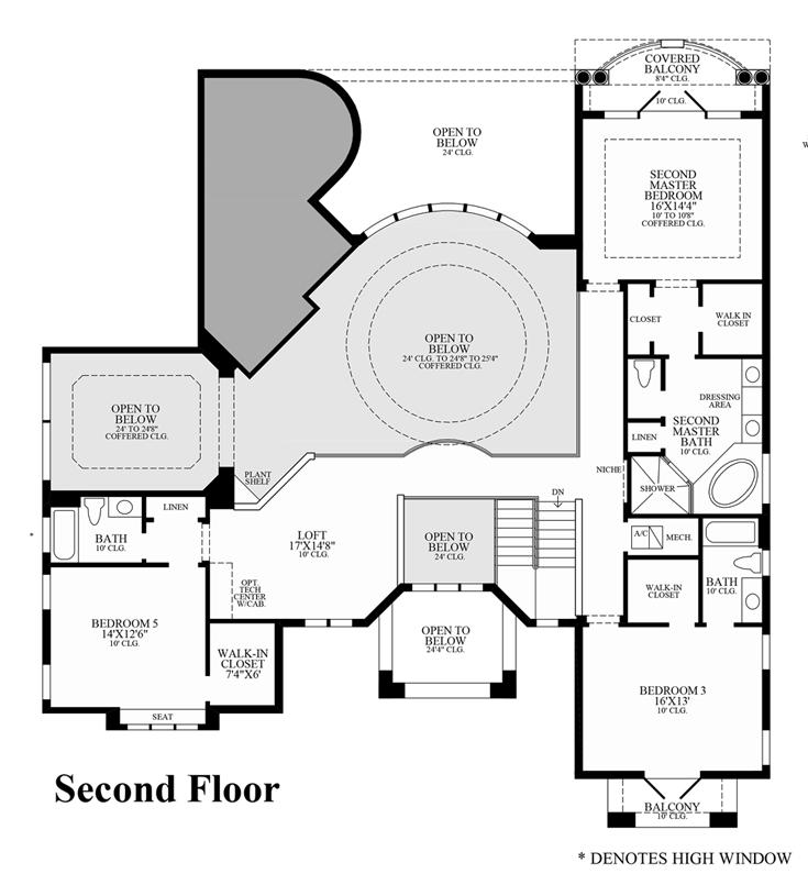 Floorplan Image: 2nd Floor