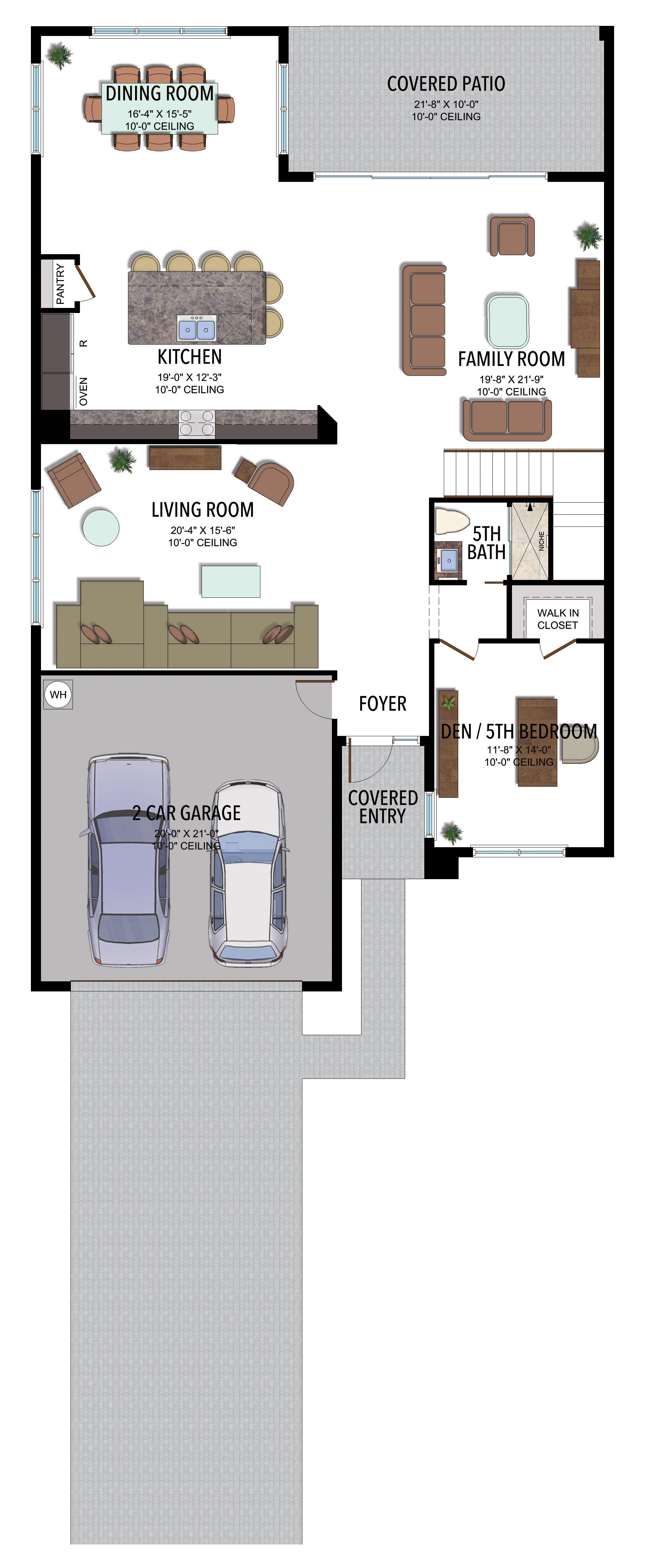 Mariana Floorplan Floor 1