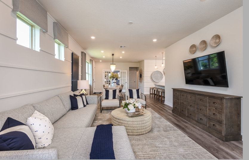 Serenity: Open-Concept Gathering Room Designed with the Best Ideas from Homeowners