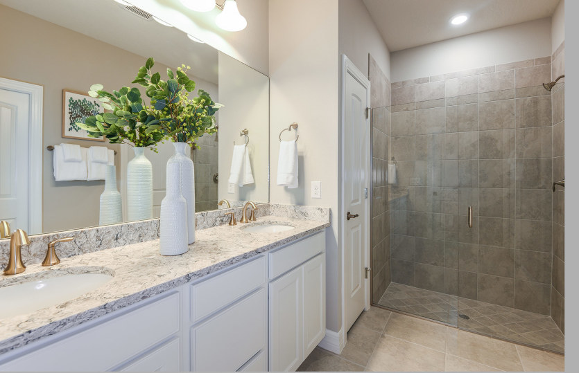 Serenity: Large Owner's Bath with Entry from the Owner's Suite