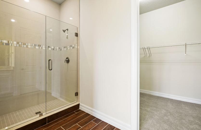 Owner's Bathroom with Frameless Glass Shower