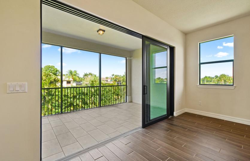 Sliding Glass Door to Private Balcony