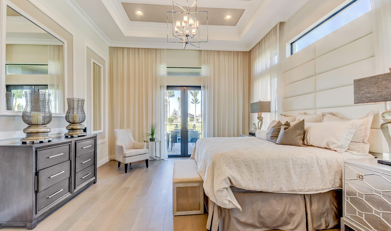 Elegant owner's suite