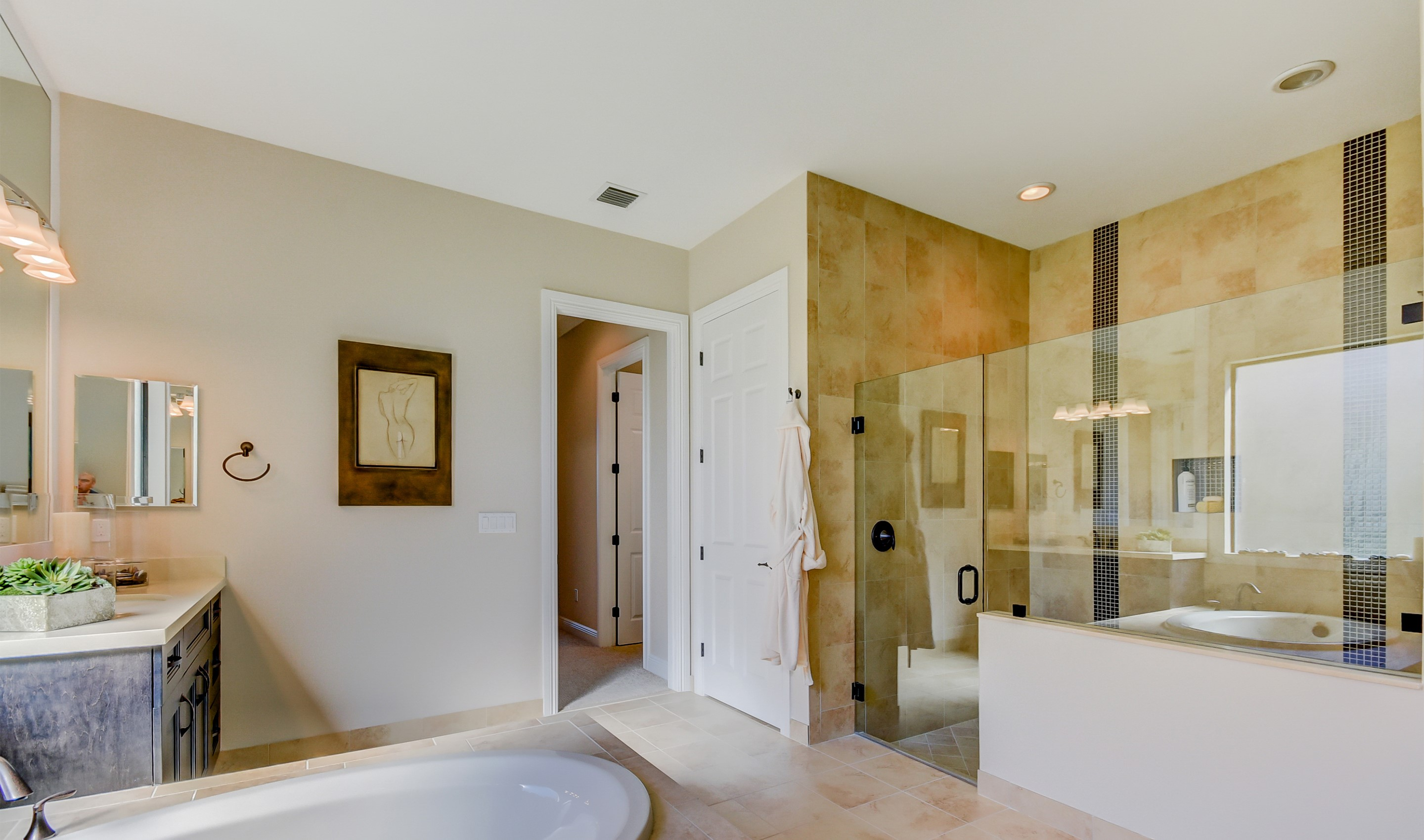 Elegant owner's bath
