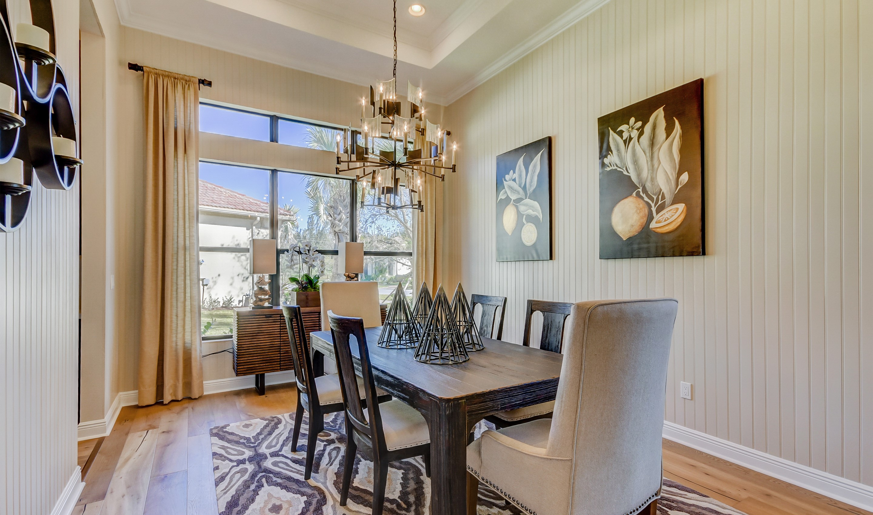 Inviting dining room