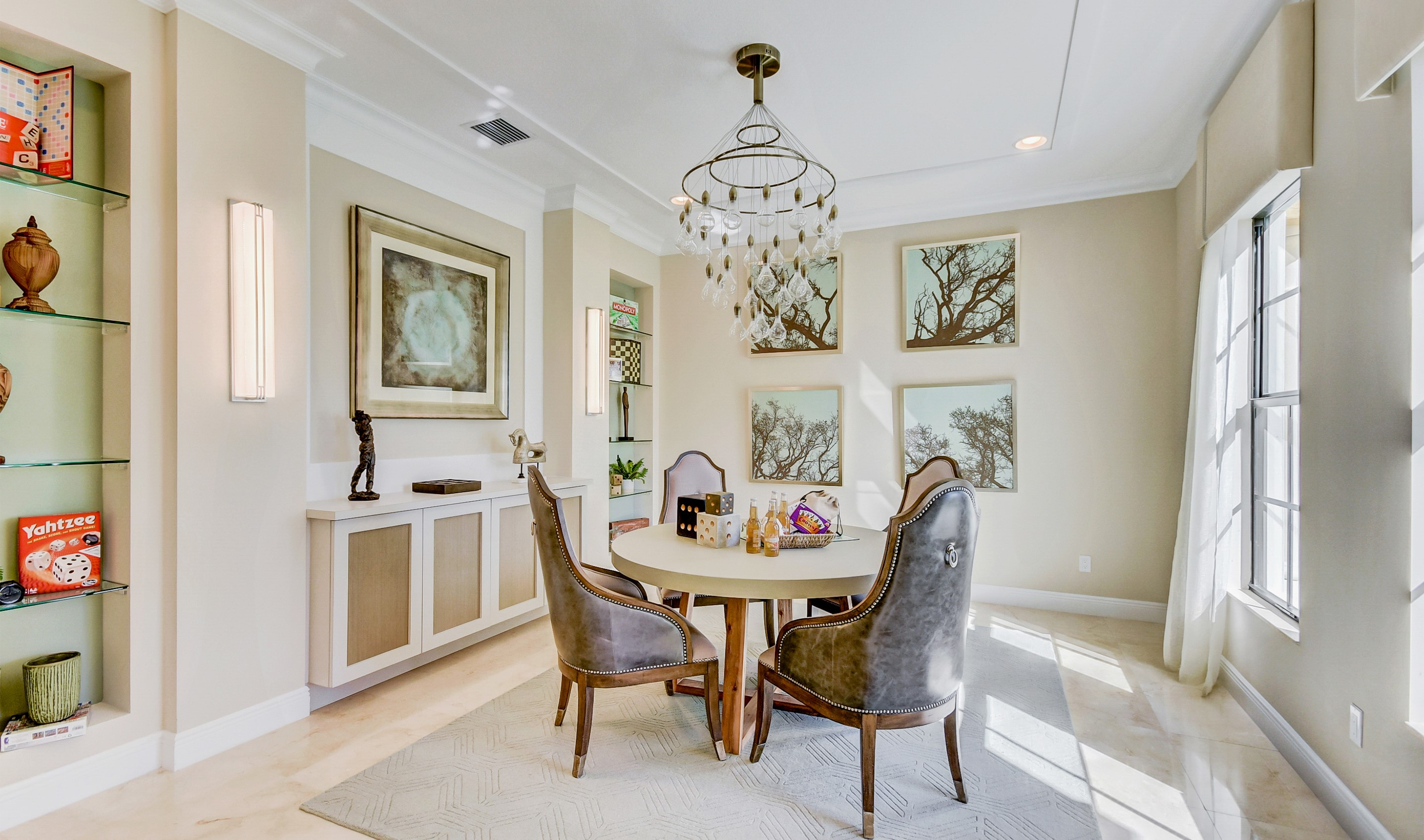 Dining room for formal entertaining