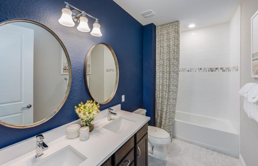 Fifth Avenue: Model Representation: Secondary Bathroom