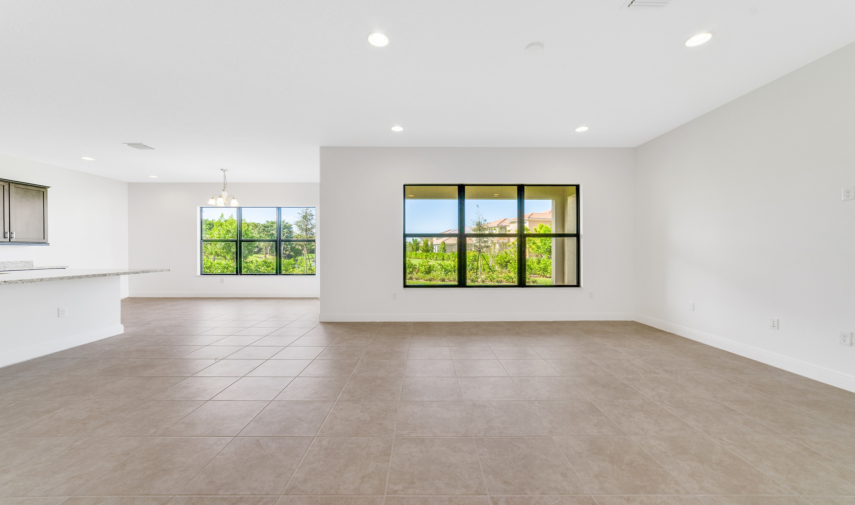 Great room ideal for entertaining