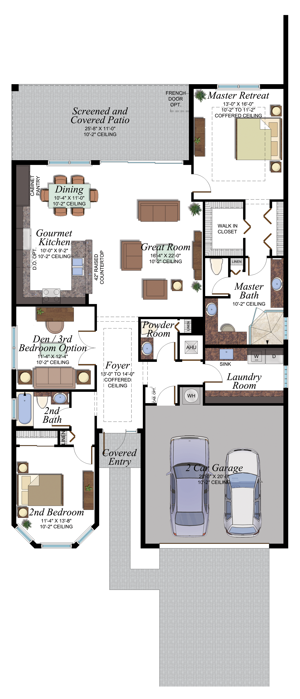 Valencia Bay Olivia floorplan