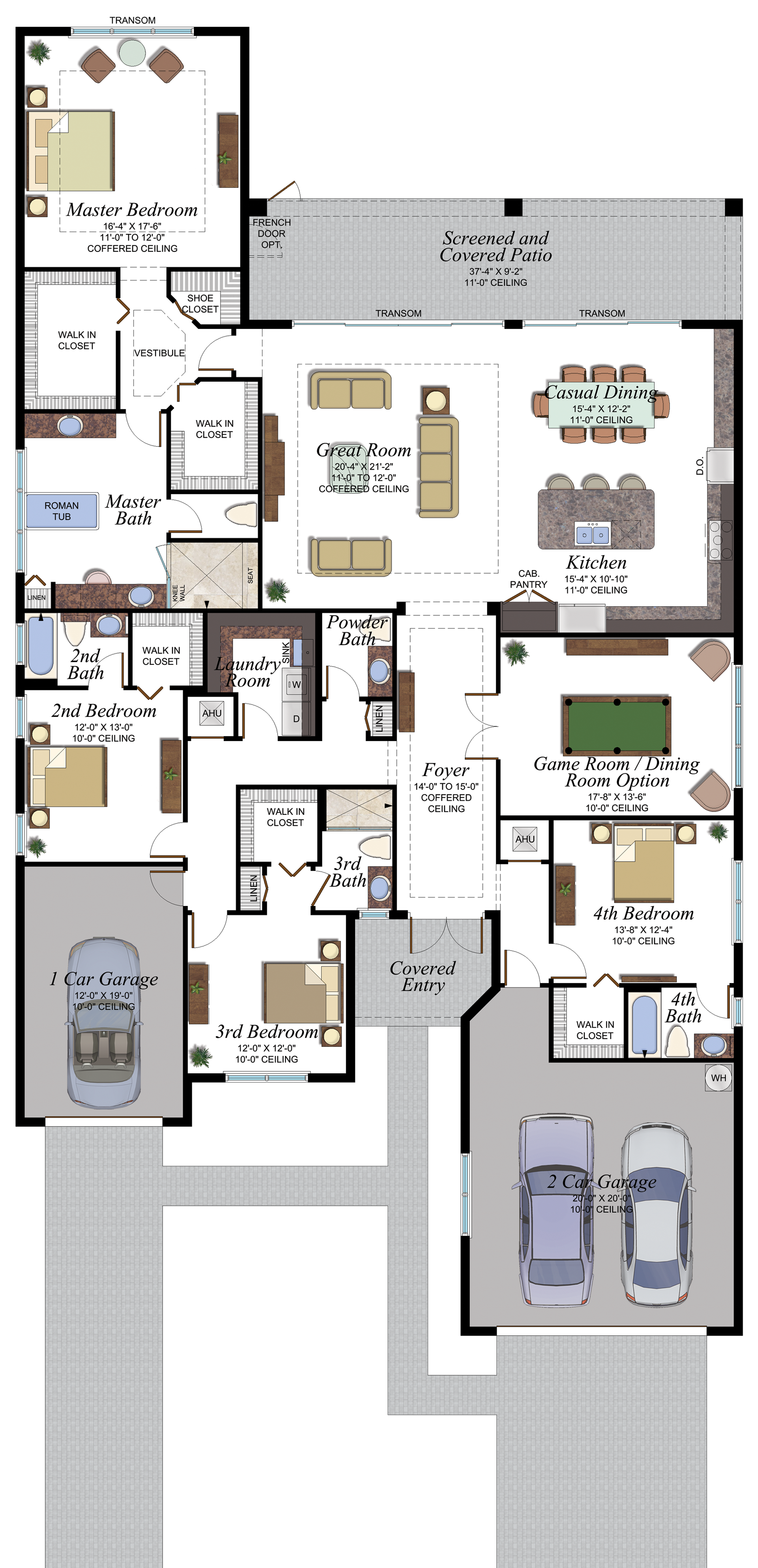 Valencia Bay Napa Floorplan