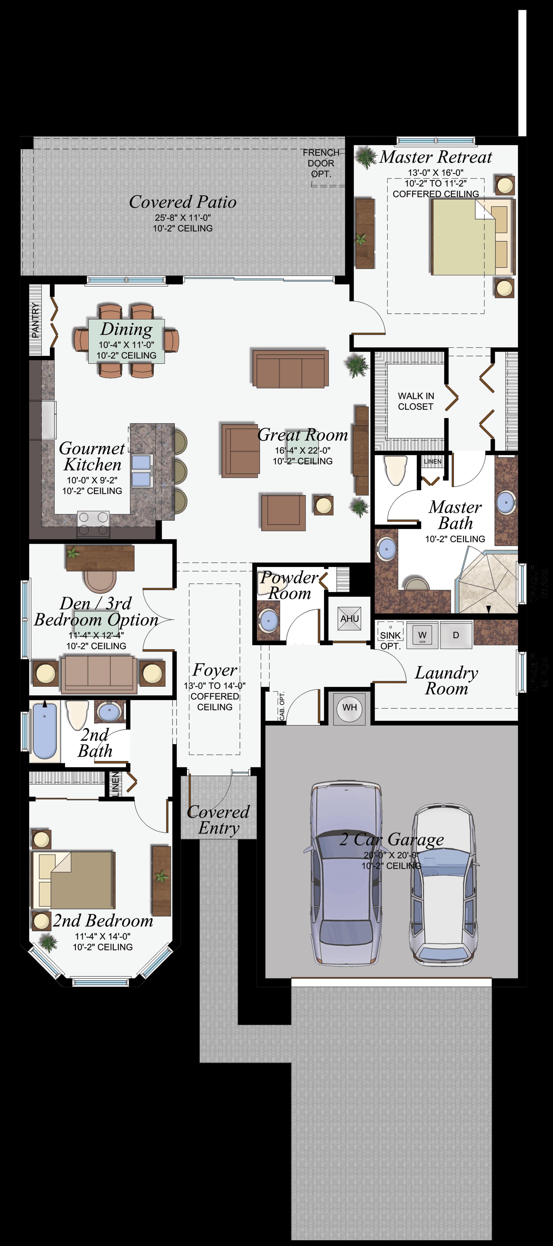 Dakota Olivia Floorplan
