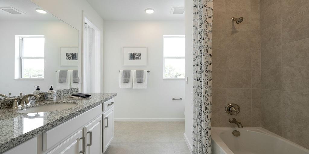 Spruce: Secondary Bath