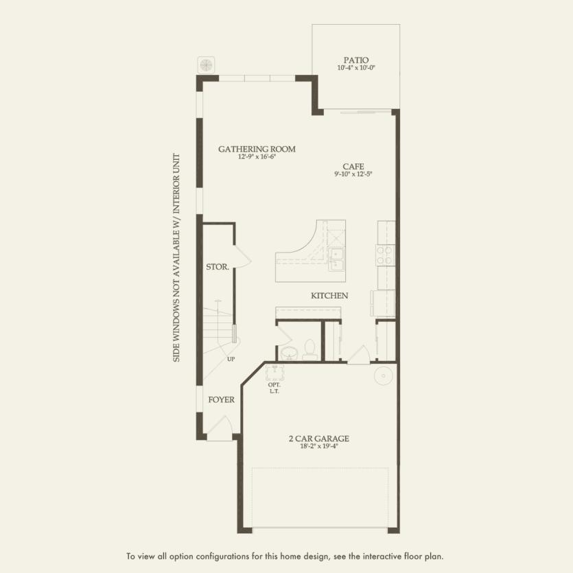 Leland: First Floor 3 br / 2.5 ba