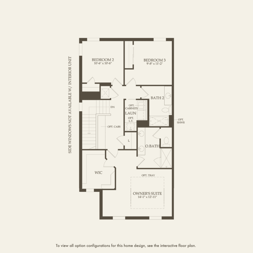 Leland: Second Floor 3 br / 2.5 ba