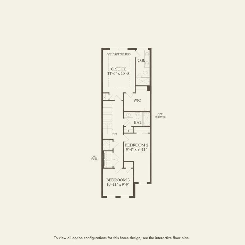 Navarre: Second Floor 3 br / 2.5 ba