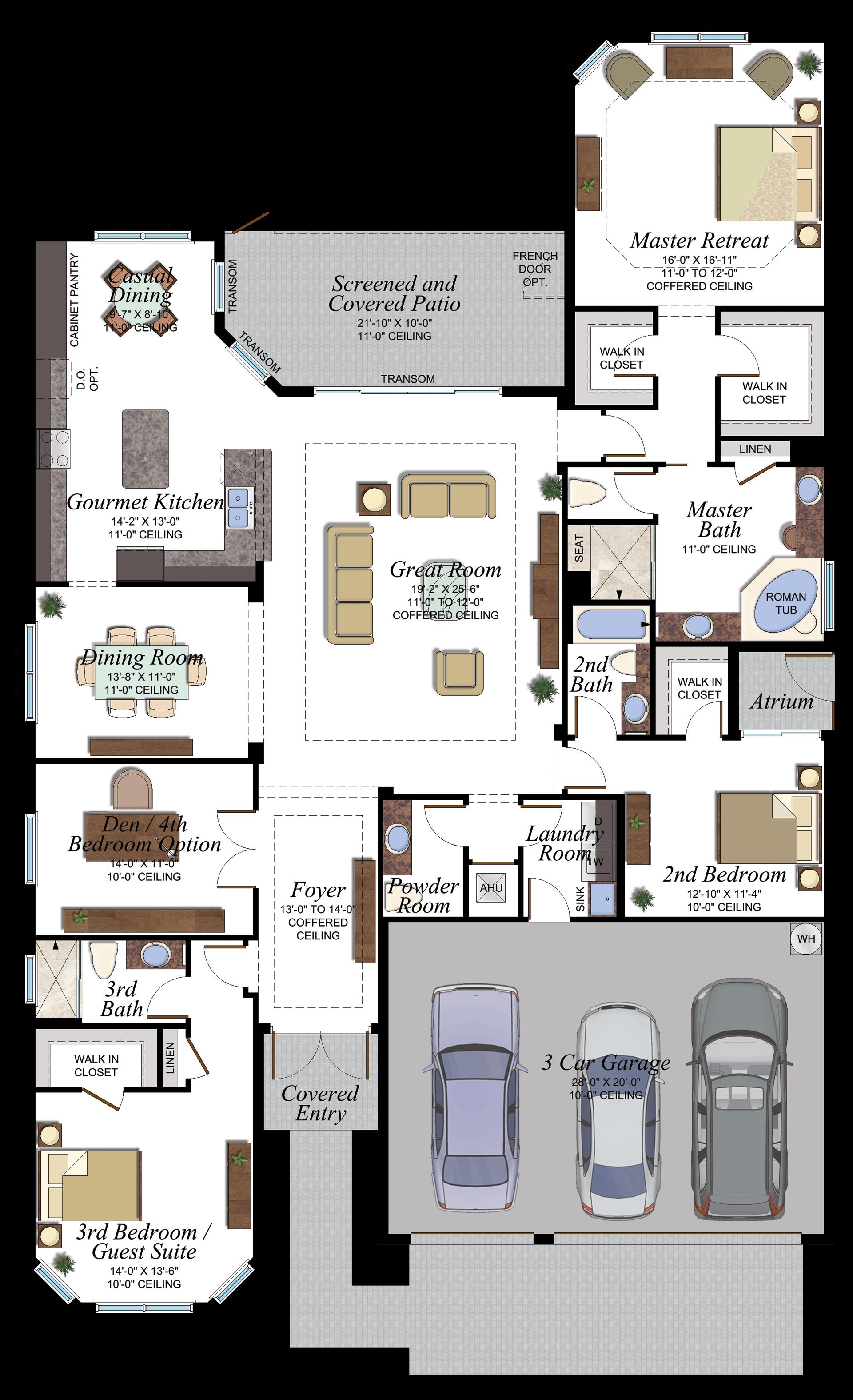 Michigan Floorplan