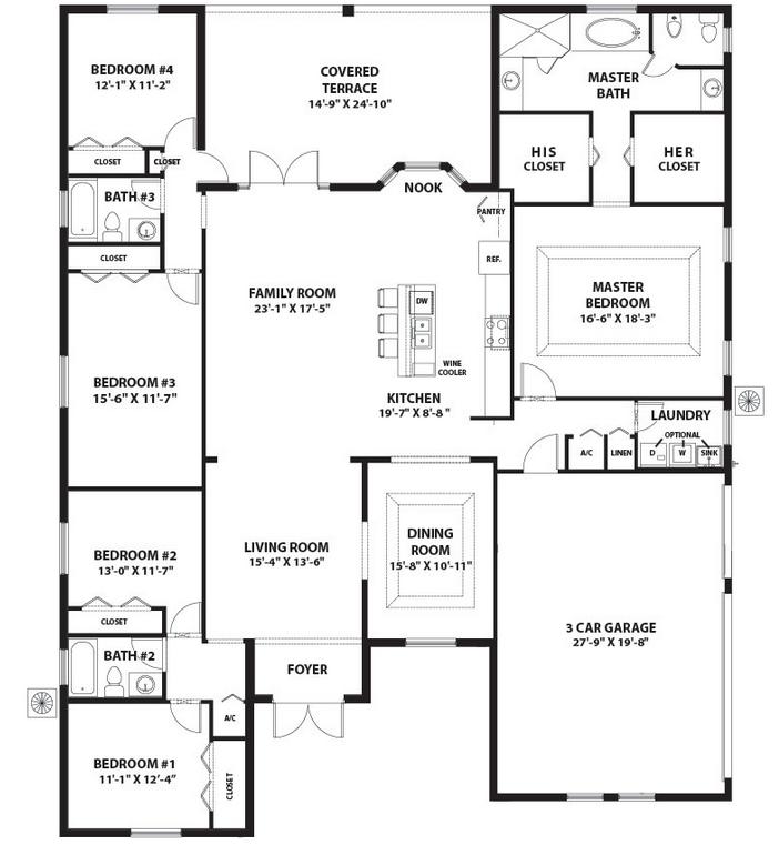 Renoir Floor Plan