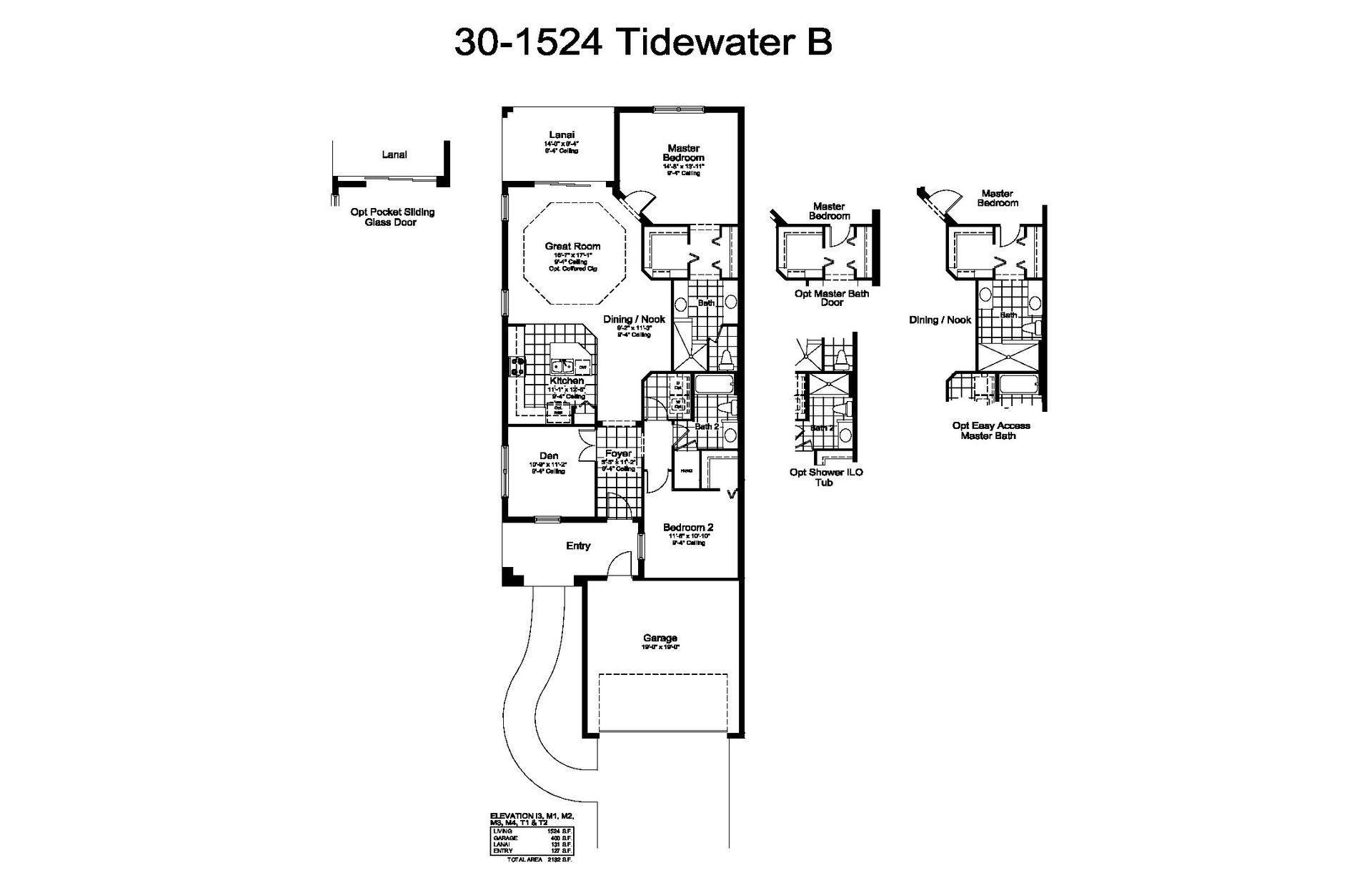 Tidewater B Plan