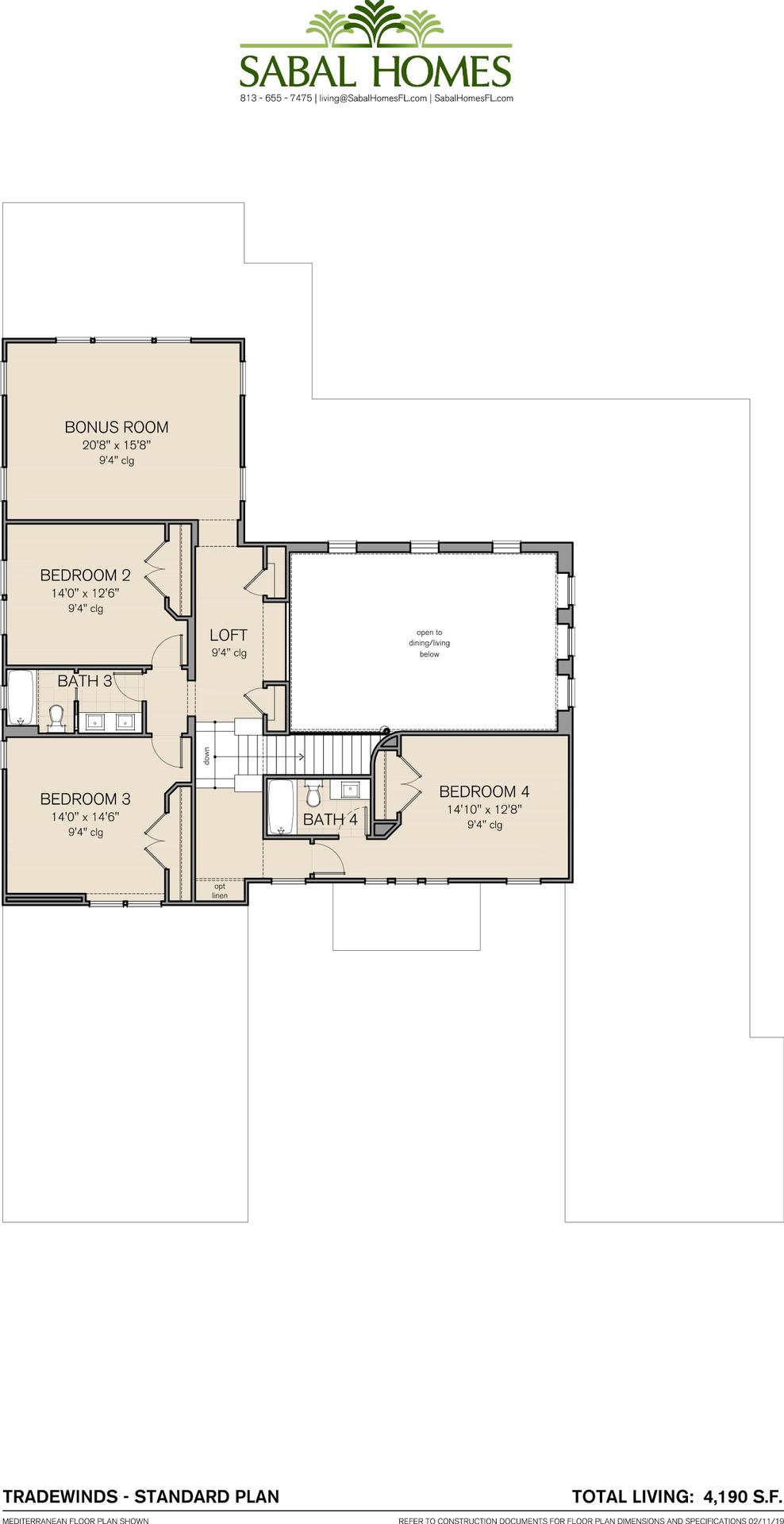 Tradewinds In Law Suite Plan