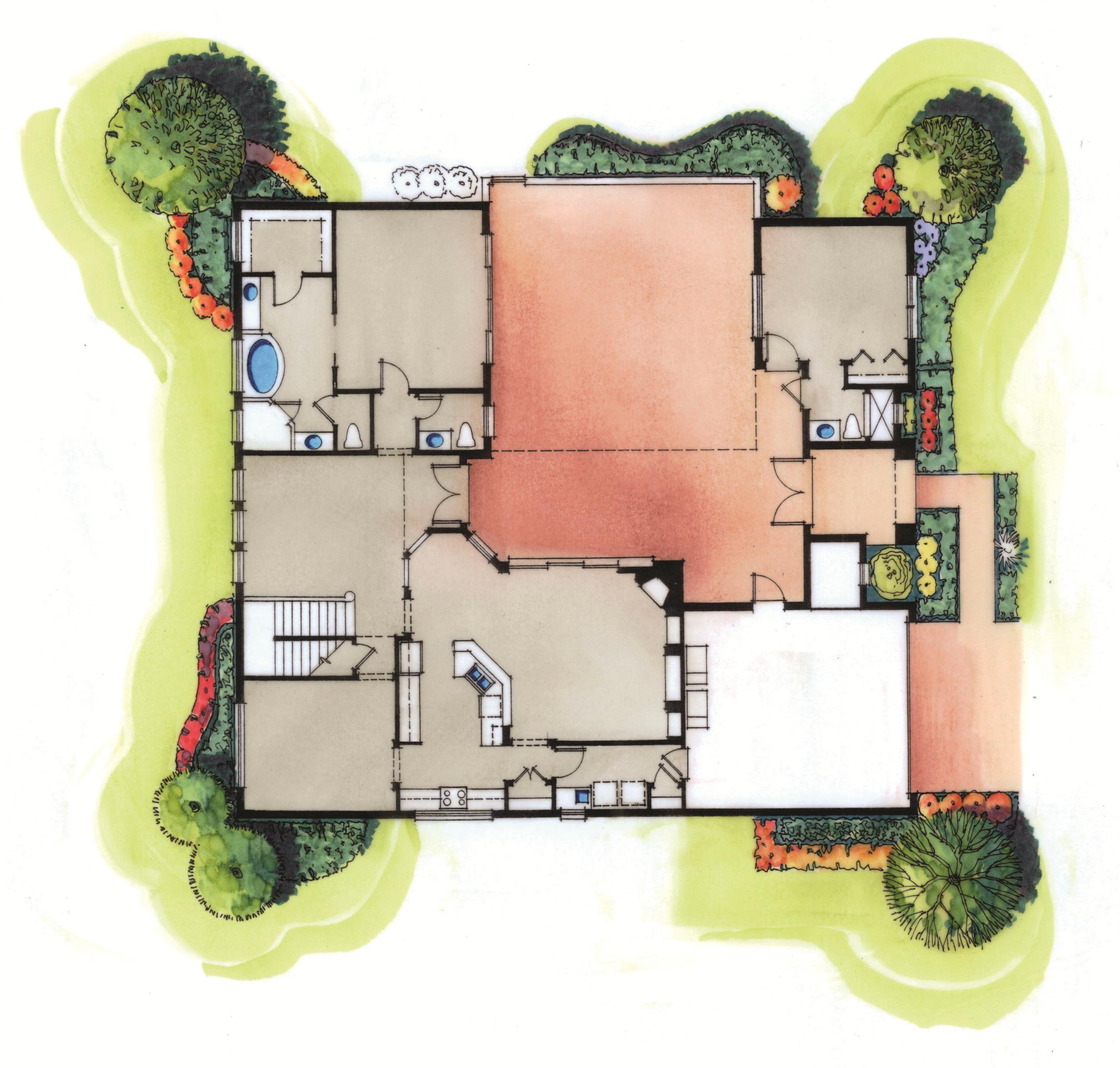 The Courtyard II