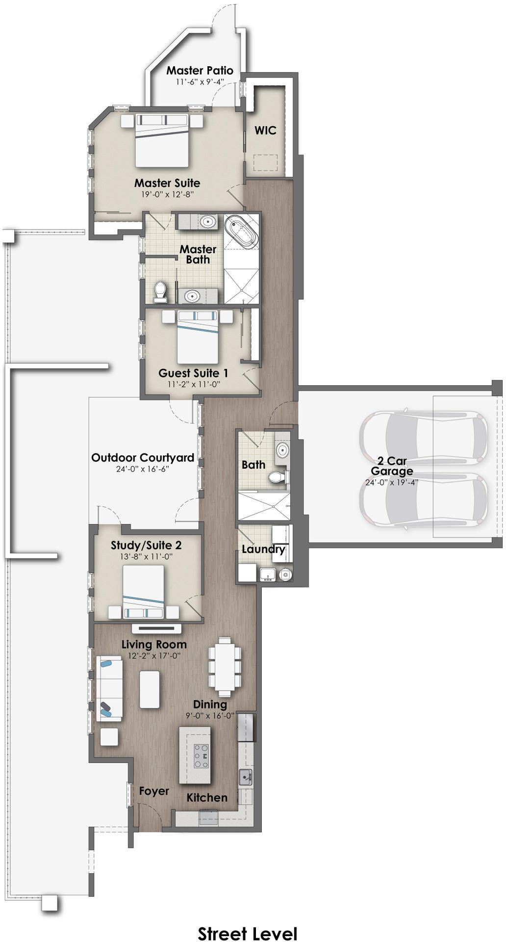 Villa Rosso Plan