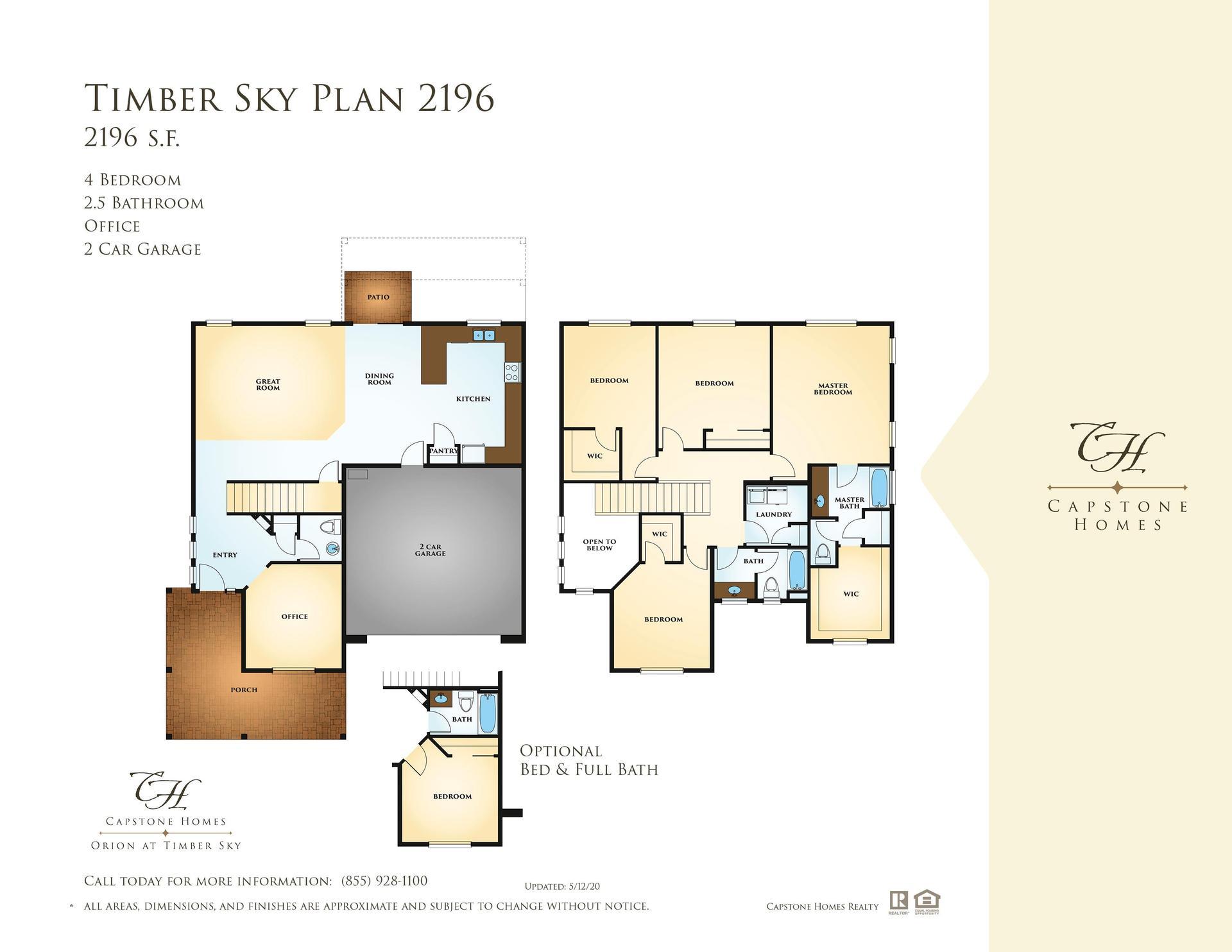 Timber Sky Plan 2196 Plan