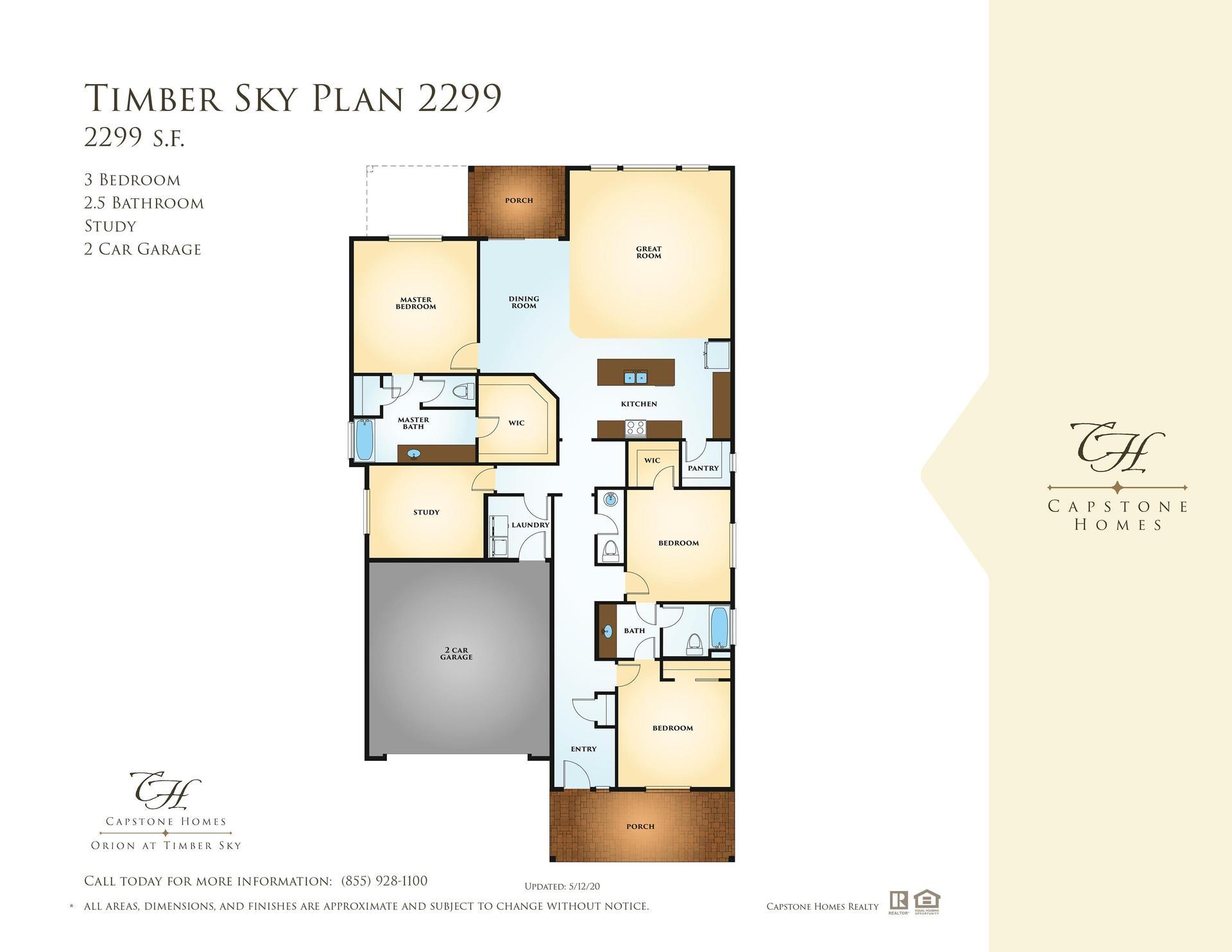 Timber Sky Plan 2299 Plan