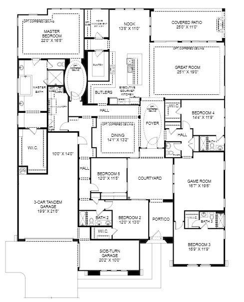 Residence 5 Plan