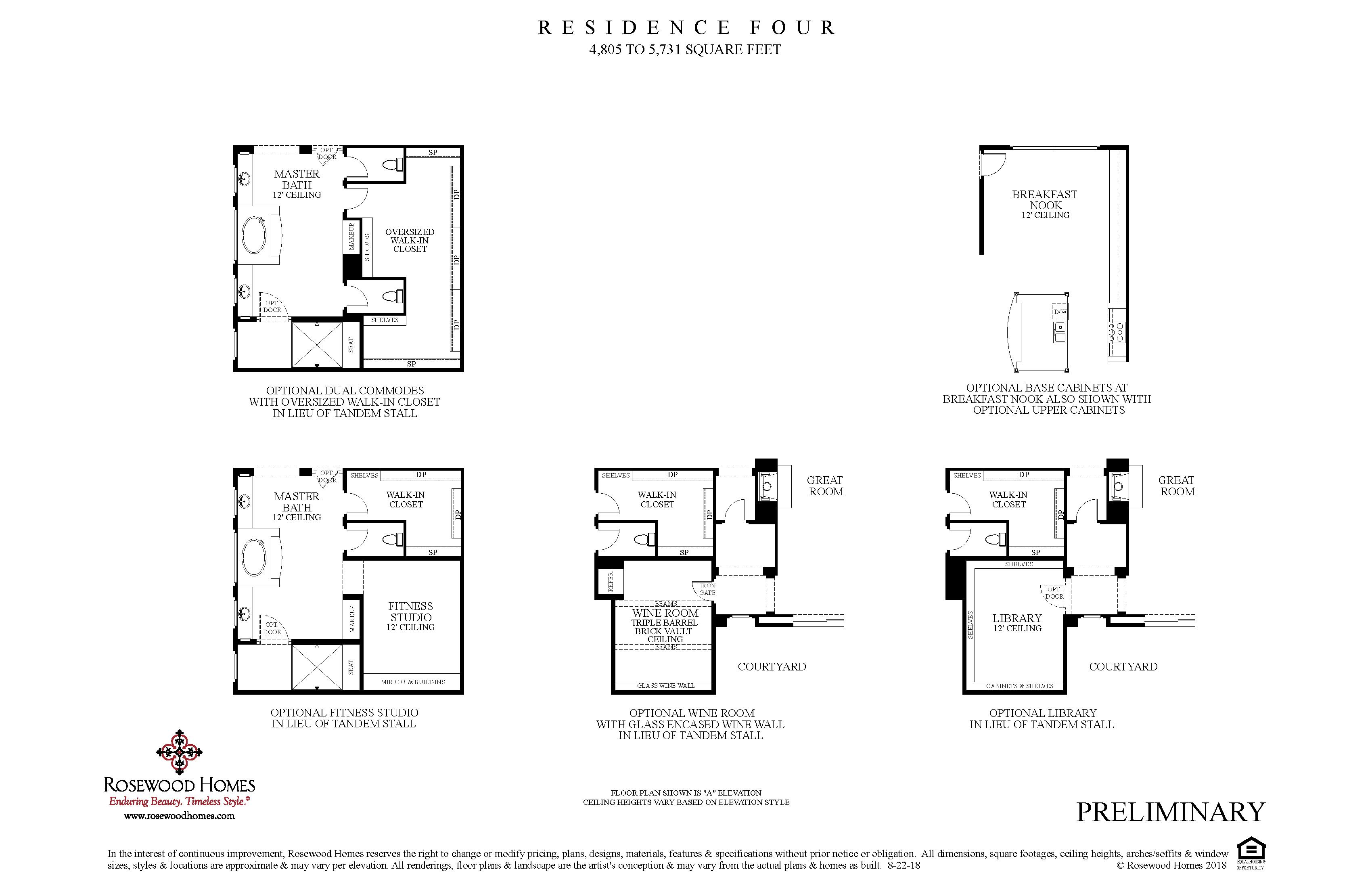 Residence Four Plan