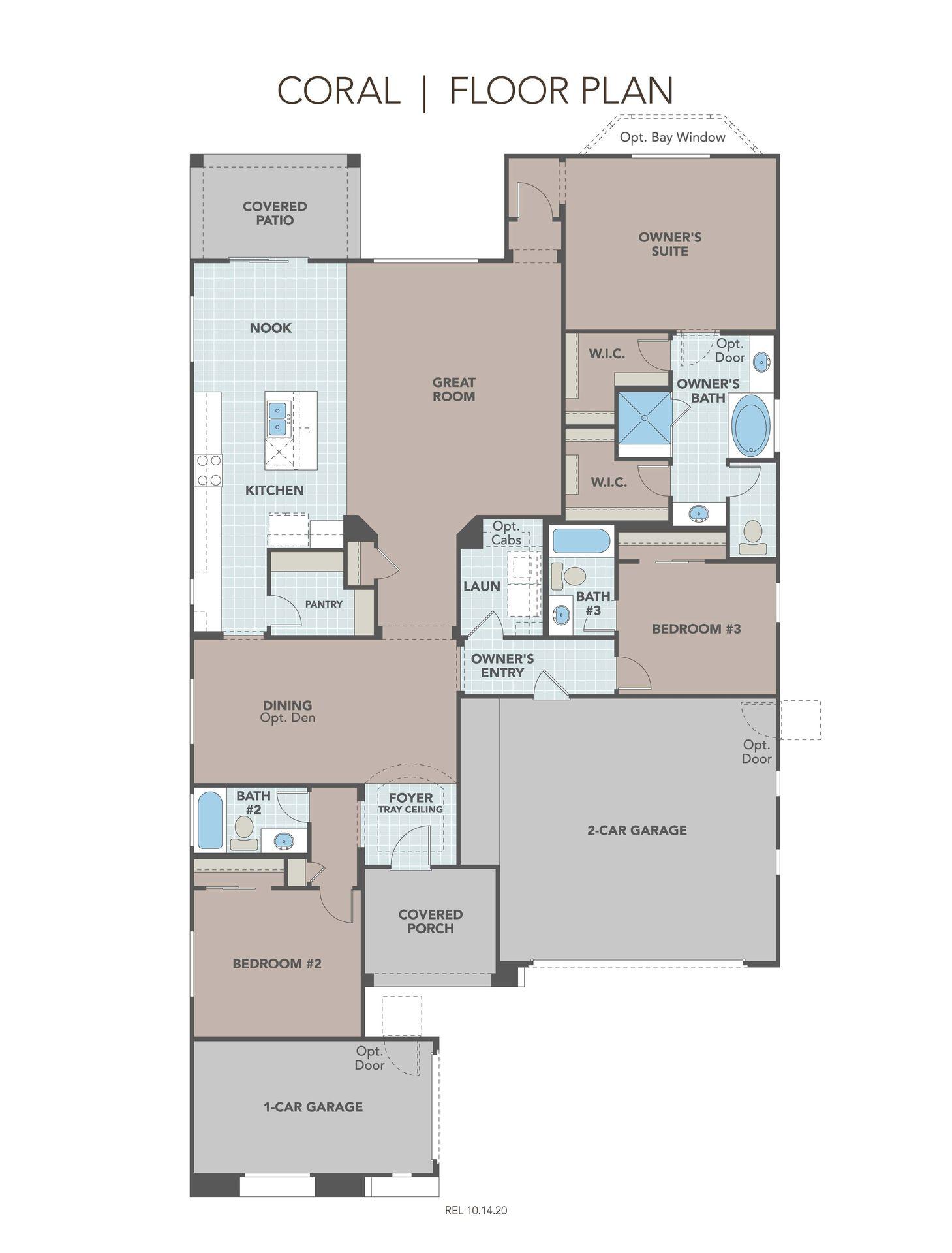 Hacienda Series - Coral Plan