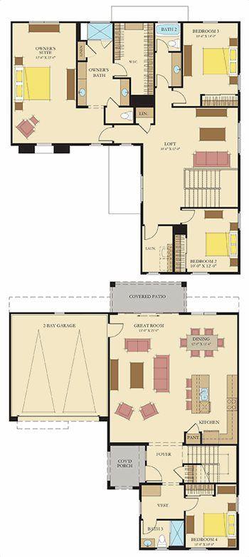 Santa Barbara Plan 4527 Plan