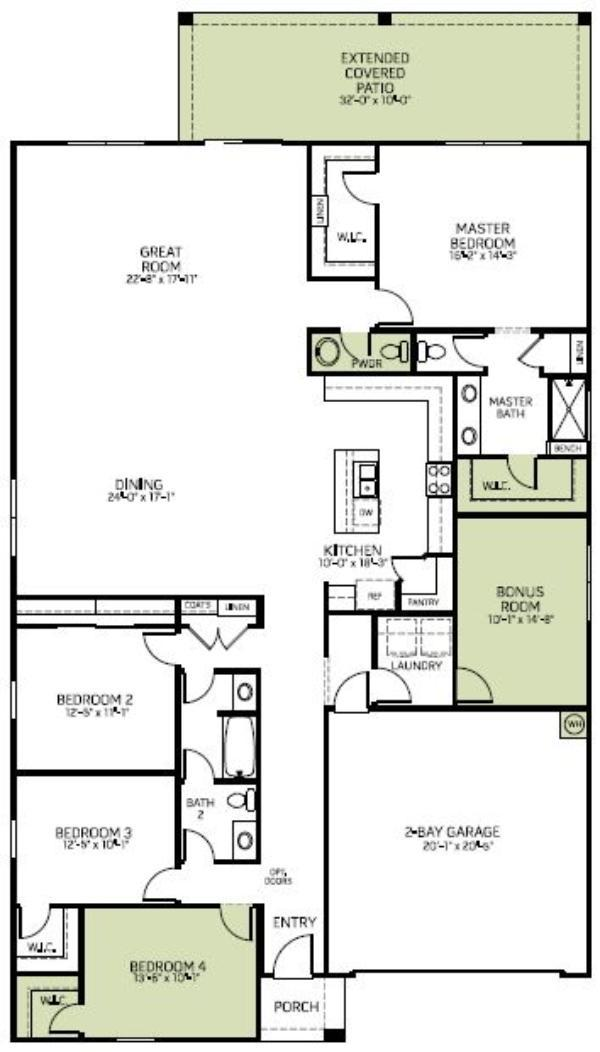 7516 S 33rd Drive (Lookout - Lot 213)
